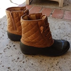 Cute waterproof boots